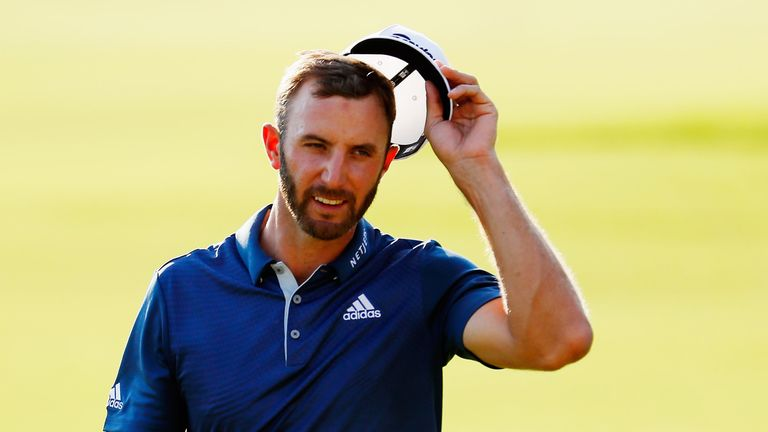 Dustin Johnson ends the season second in the FedExCup standings