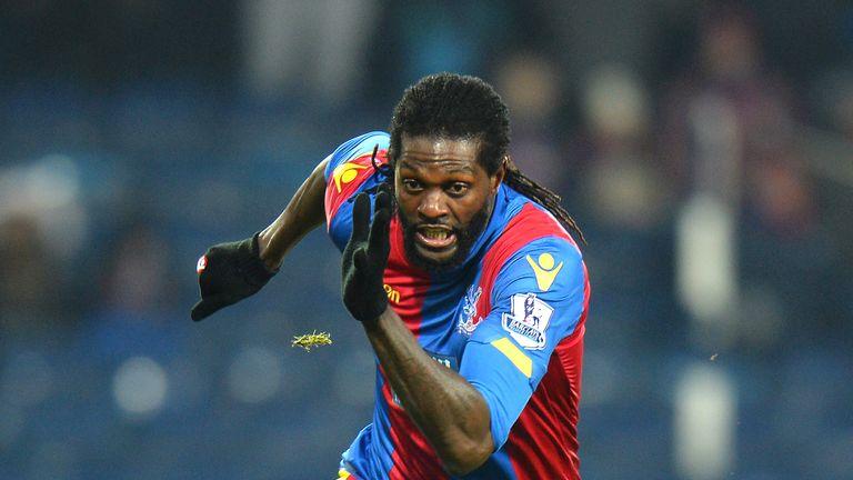 Emmanuel Adebayor has not found a new club since leaving Crystal Palace