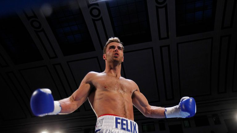 Felix Cash is the one who stands out for York Hall favourite, Kevin Mitchell