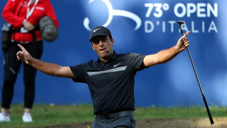 Francesco Molinari sealed his first European Tour title in over four years.