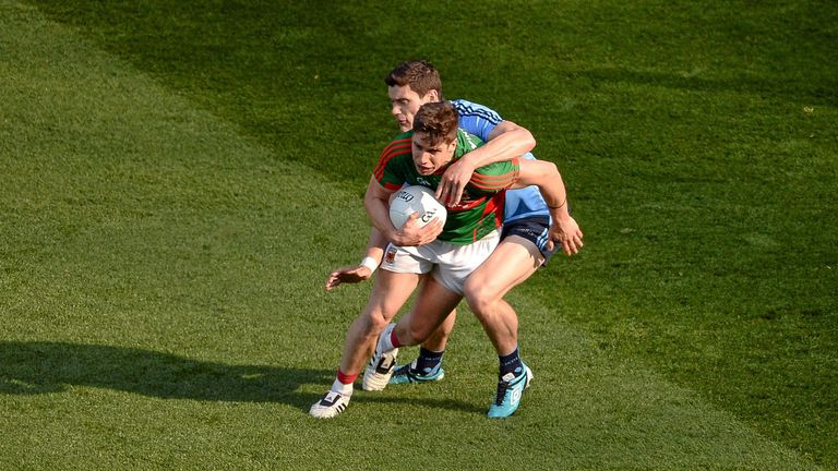 Lee Keegan and Diarmuid Connolly will renew hostilities on Sunday