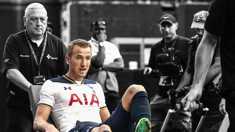 Tottenham will have to do without Harry Kane after he was injured against Sunderland