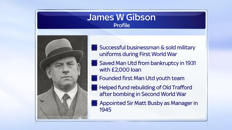 Some of Gibson's contributions to the history of United