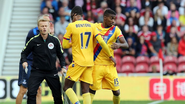 Christian Benteke's younger brother Jonathan will be out for four months with a knee injury