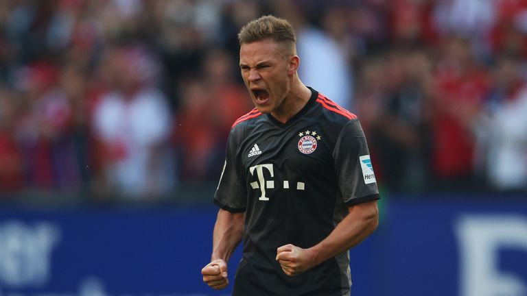 Joshua Kimmich has committed his future to Bayern Munich