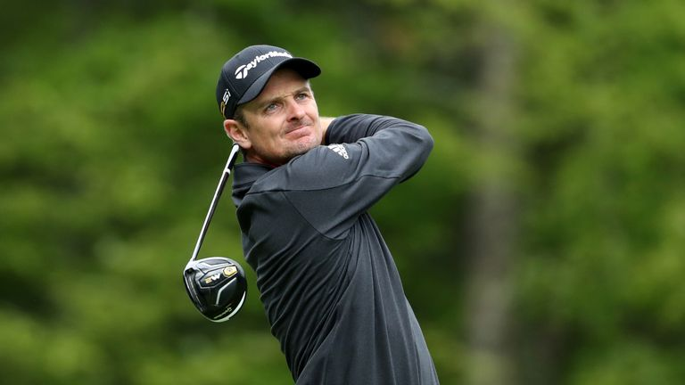 Justin Rose plummeted out of contention during a torrid back-nine 45