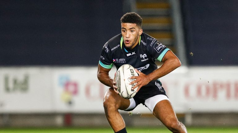 Ospreys winger Keelan Giles showed flashes of brilliance last season