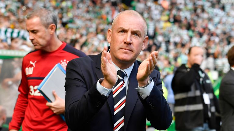 Mark Warburton says Rangers are building for the future