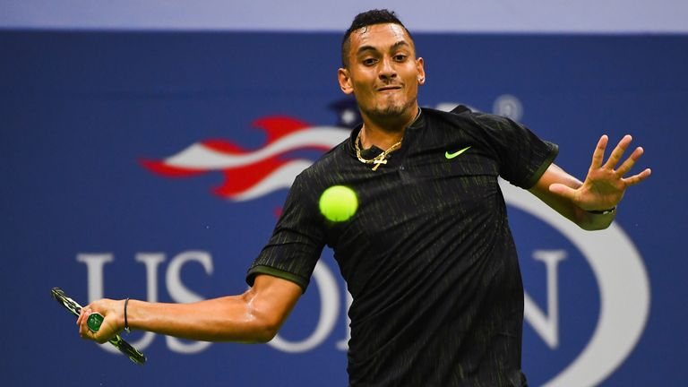 Kyrgios confident of fitness for Slovakia Davis Cup tie