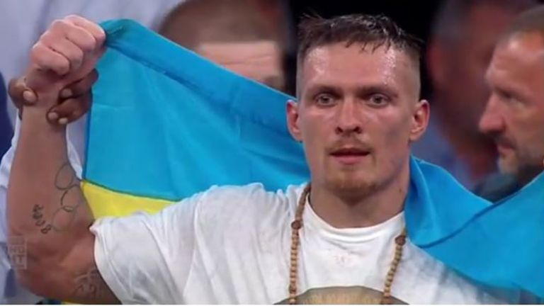 Oleksandr Usyk is already the best cruiserweight in the world, says Chamberlain