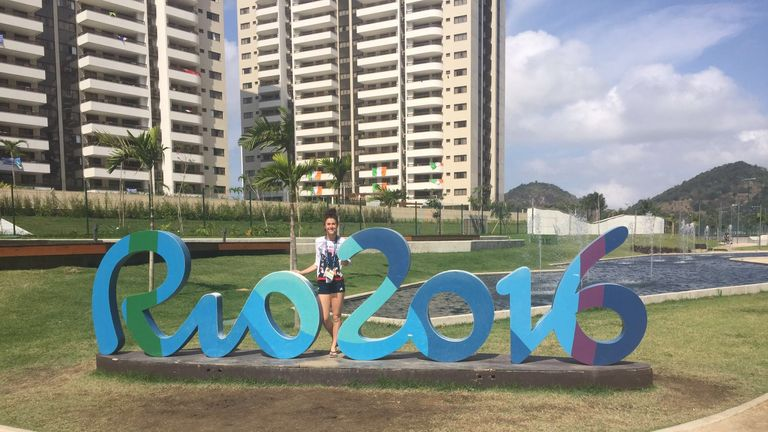 The Paralympics tested Olivia's mental strengths to the maximum