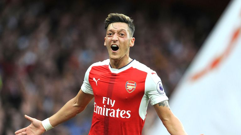 Mesut Ozil is yet to agree a new deal at Arsenal