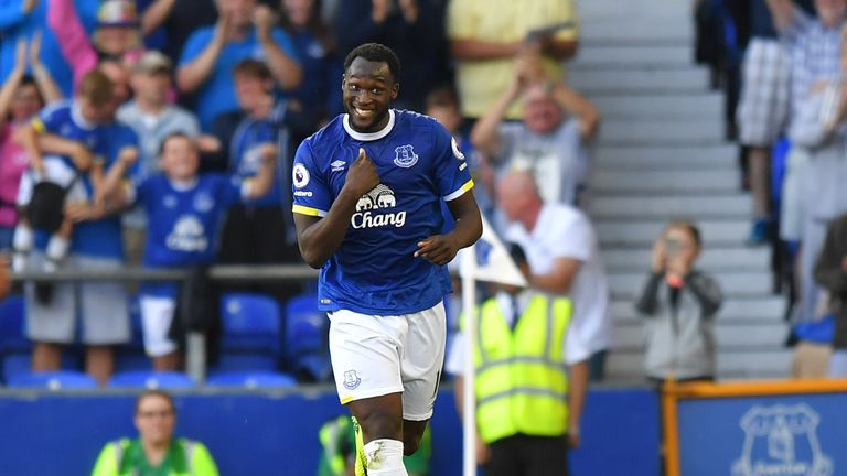 Romelu Lukaku is Everton's top scorer so far this season