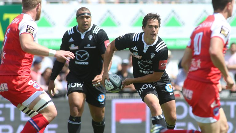 Matthieu Ugalde (middle) has been suspended until January 2