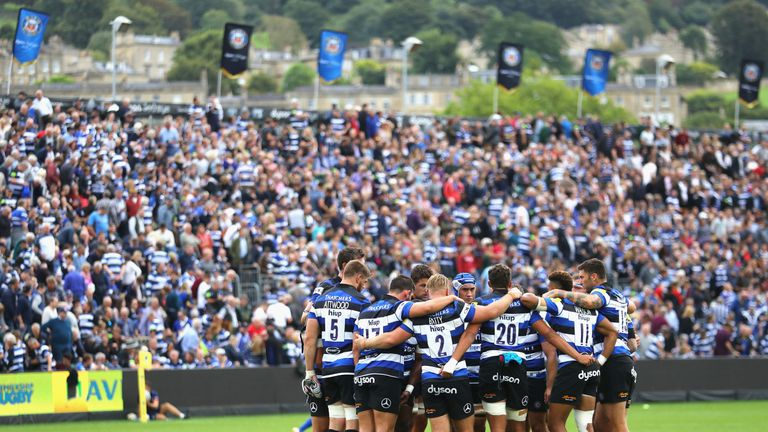 Bath are keen to build a new stadium on their current site