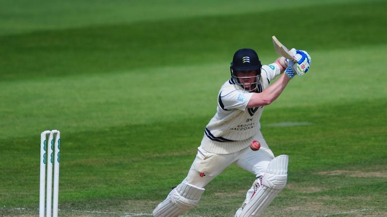Sam Robson of Middlesex and England, but not Bumble's dominoes opponent