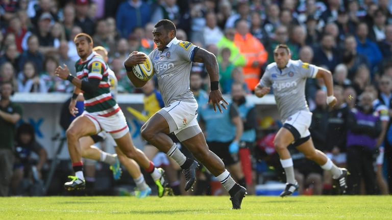 Semesa Rokoduguni scored Bath's first try