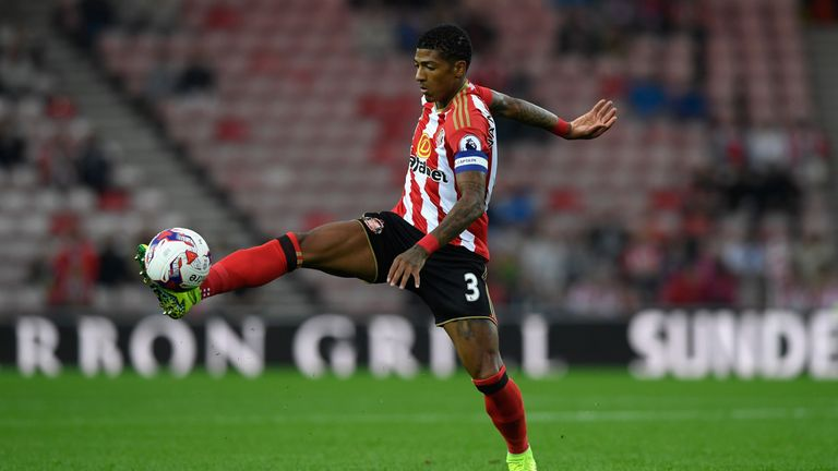 Van Aanholt played the full 90 minutes in Sunderland's EFL Cup win over QPR on Wednesday