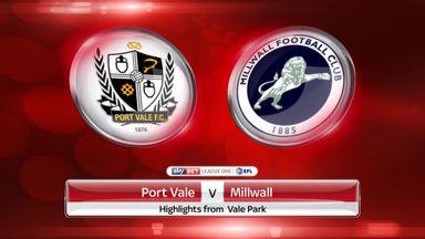 Port Vale 3-1 Millwall