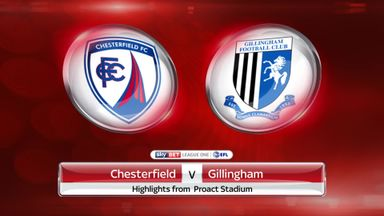 Chesterfield 3-3 Gillingham