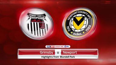 Grimsby 1-0 Newport