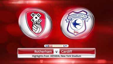 Rotherham 1-2 Cardiff