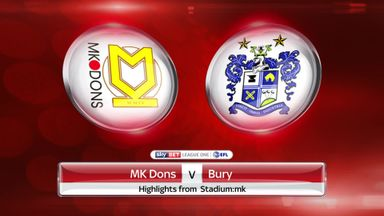 MK Dons 1-3 Bury