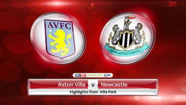 Aston Villa 1-1 Newcastle