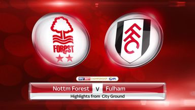 Nott'm Forest 1-1 Fulham