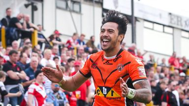 Castleford have rejected three offers for Denny Solomona