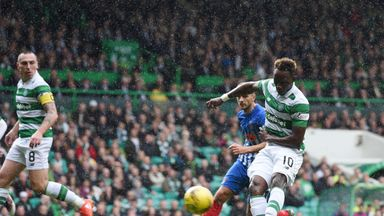 Moussa Dembele scores his second for Celtic against Kilmarnock
