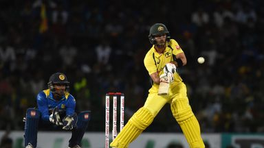 Glenn Maxwell smashed 66 from 29 balls as Australia got off to a flyer