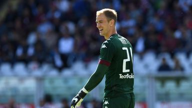 Iago Falque's double handed Joe Hart's Torino a home victory over Roma for the first time since 1990