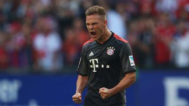 Joshua Kimmich put Bayern Munich in front before the break