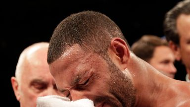 Kell Brook required surgery on his right eye socket
