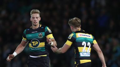 Harry Mallinder kicked a late penalty to give Northampton a win over Exeter