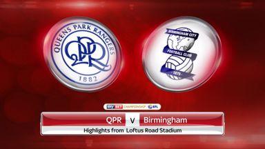 QPR 1-1 Birmingham