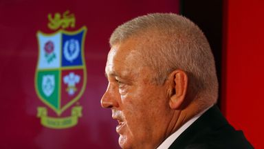 British and Irish Lions head coach Warren Gatland has a wealth of form individuals to select from