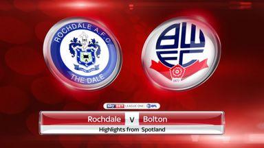 Rochdale 1-0 Bolton