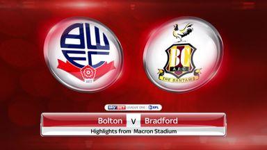 Bolton 0-0 Bradford