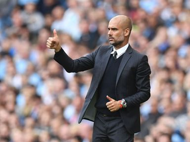Manchester City manager Pep Guardiola says