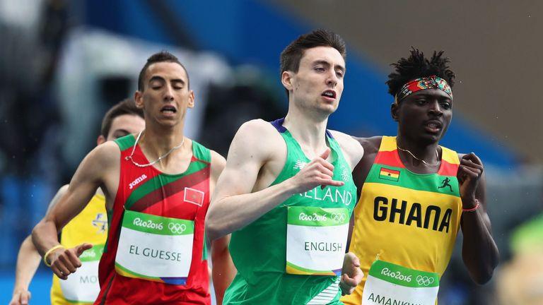 Mark English made the 800m semi-finals in Rio