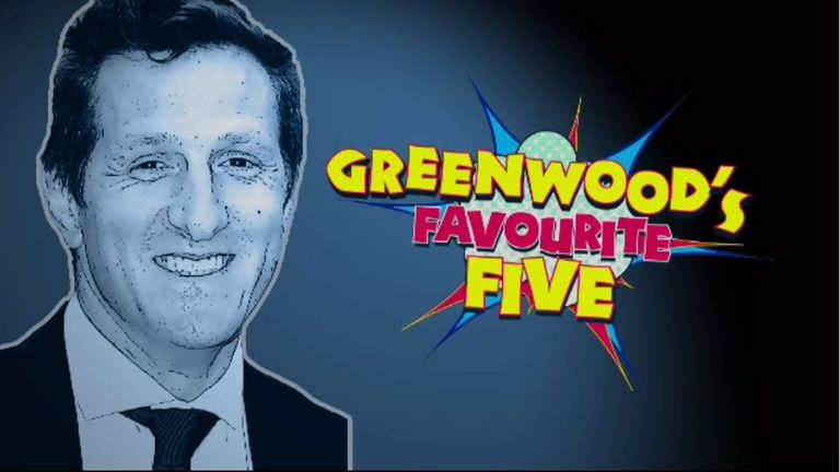 Will Greenwood's Favourite Five