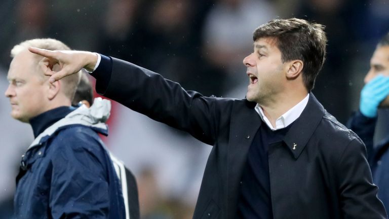 Mauricio Pochettino's team sit second in Group E after Tuesday's draw