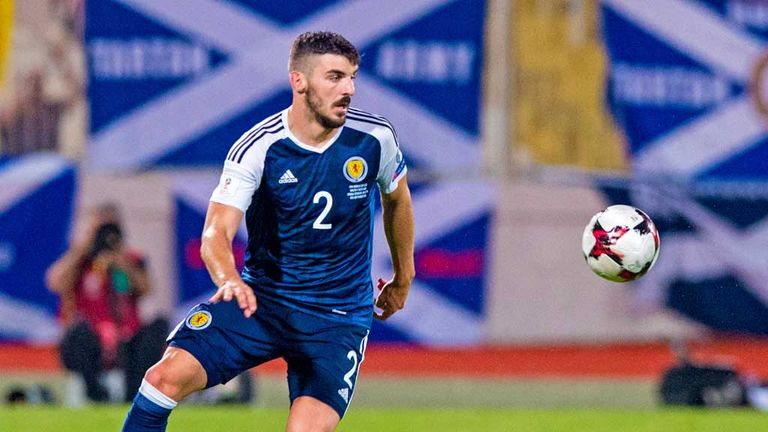 Robert Snodgrass: Four points from six is minimum Scotland target