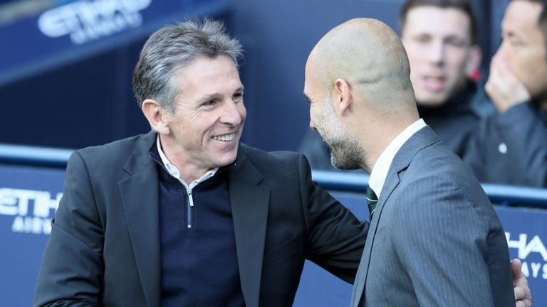 Image result for pep guardiola and puel
