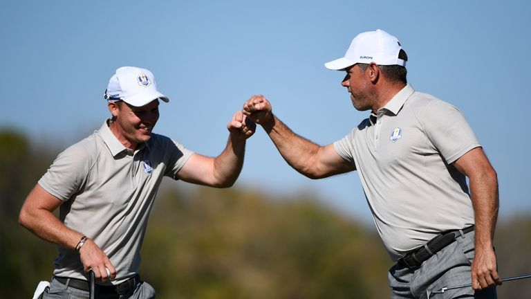 U.S. storms back for 3-point lead at Ryder Cup