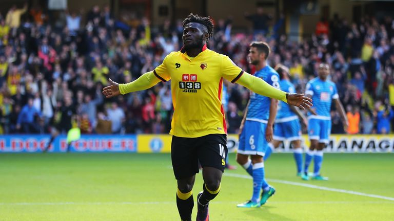 Isaac Success has not played since October 16