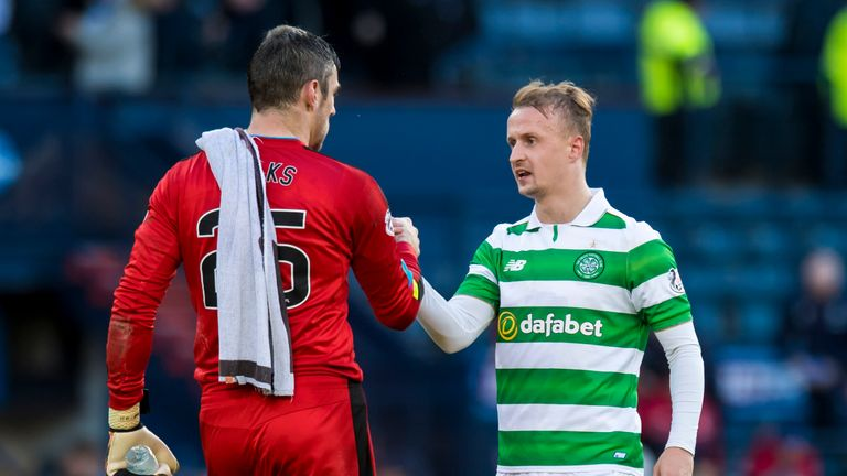 Barrie McKay: Rangers more than a match for Celtic in loss