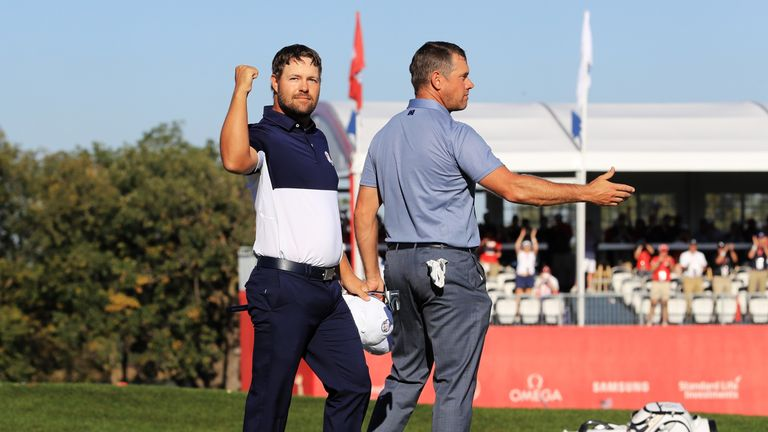 Ryan Moore secured the winning point against Lee Westwood